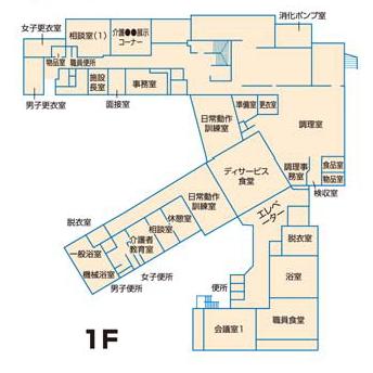 施設平面図1F