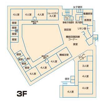 施設平面図3F